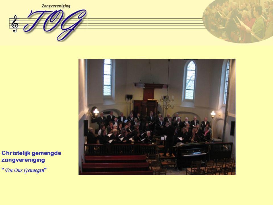 Christelijk gemengde zangvereniging Tot Ons Genoegen