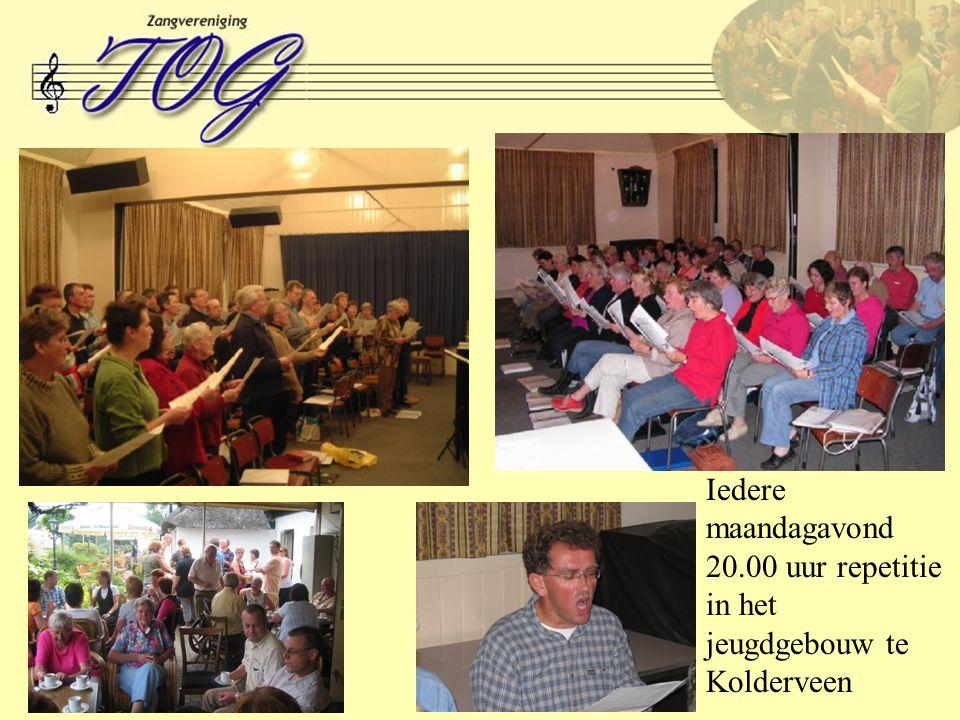 Iedere maandagavond 20.00 uur repetitie in het jeugdgebouw te Kolderveen