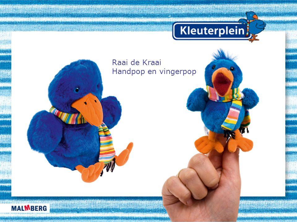 Raai de Kraai Handpop en vingerpop