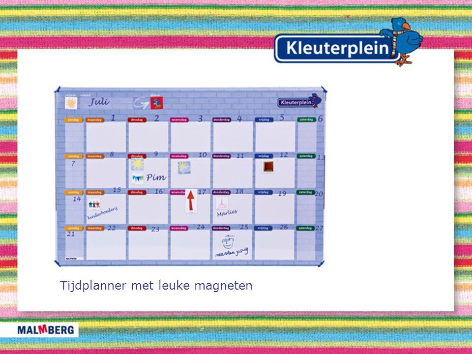 Tijdplanner met leuke magneten
