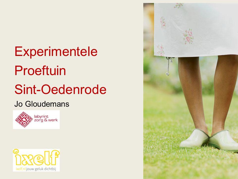 Experimentele Proeftuin Sint-Oedenrode Jo Gloudemans