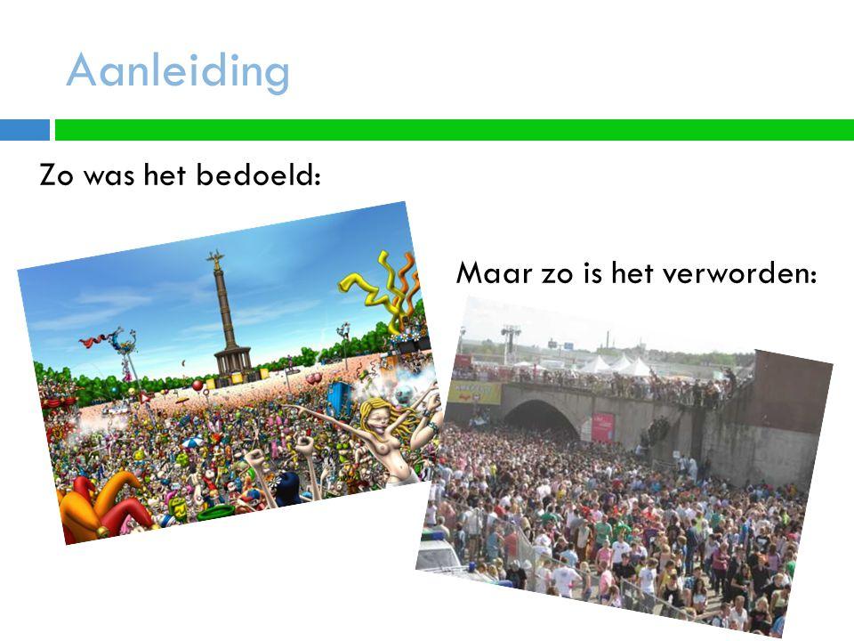 Aanleiding De Loveparade was altijd een vreedzaam en gelukkig feest.