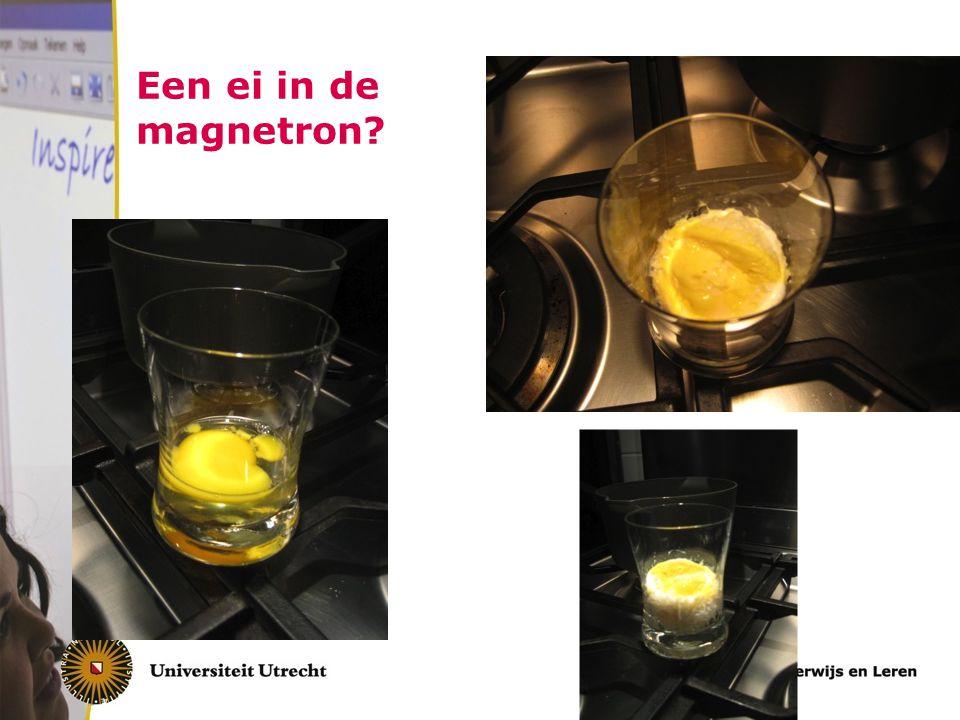 Een ei in de magnetron?