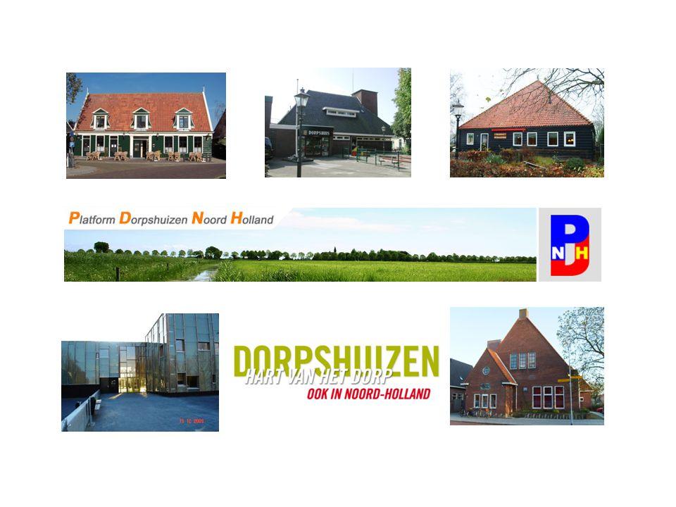 Inleiding op de functies van dorpshuizen Een schema om de gedachtengang over de functie van een dorpshuis op gang te brengen