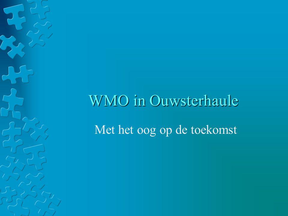 WMO in Ouwsterhaule Met het oog op de toekomst