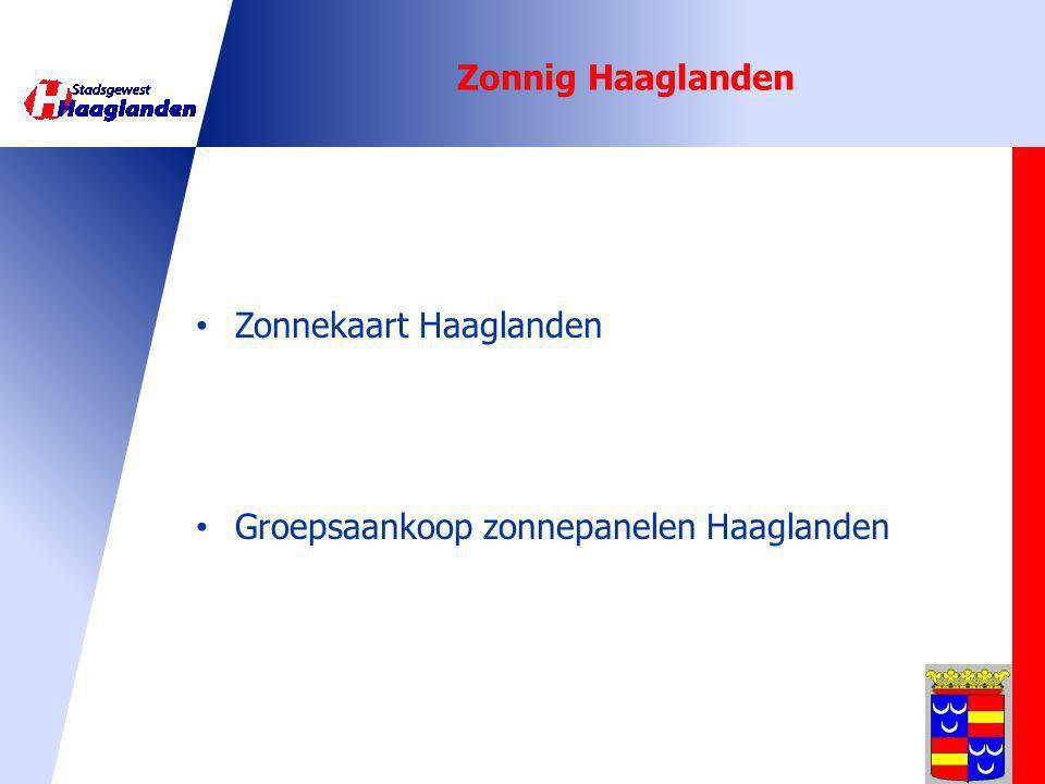 Zonnig Haaglanden Zonnekaart Haaglanden Groepsaankoop zonnepanelen Haaglanden