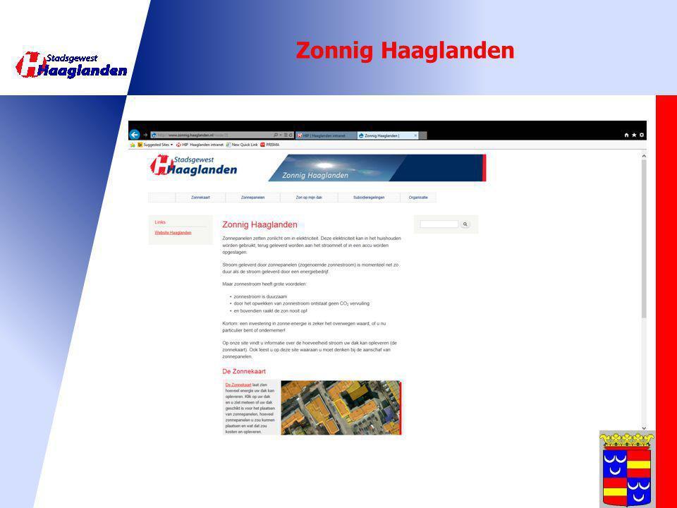 Zonnig Haaglanden