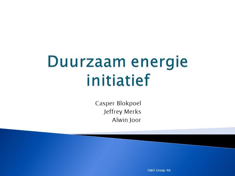 Casper Blokpoel Jeffrey Merks Alwin Joor O&O Groep A6