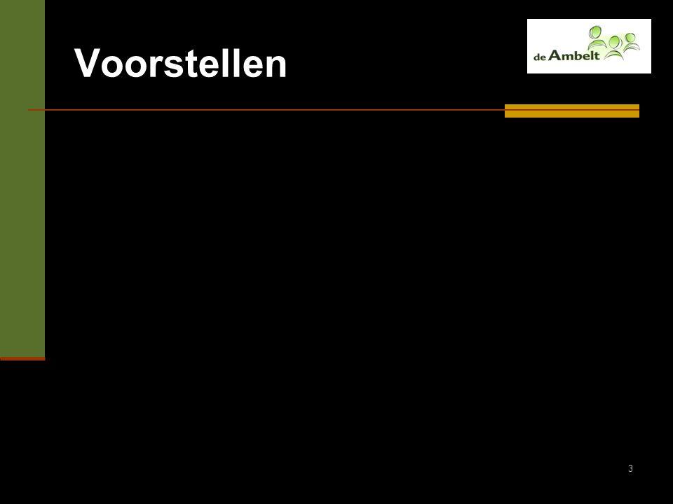 14 De organisatie van de Dienst AB 60 ambulant begeleiders 336 scholen Regio Zwolle en Apeldoorn In de nabije toekomst naast ambulante begeleiders ook: - nieuwe taken - meer disciplines - 'handen in de klas'