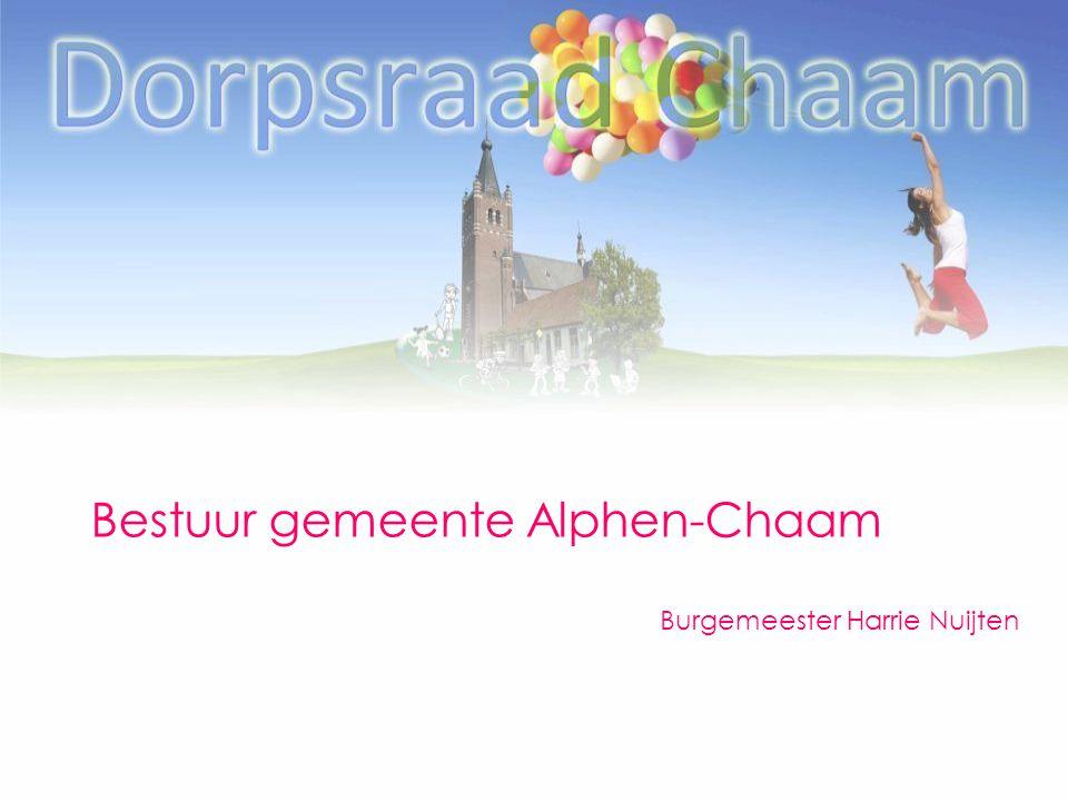 Bestuur gemeente Alphen-Chaam Burgemeester Harrie Nuijten