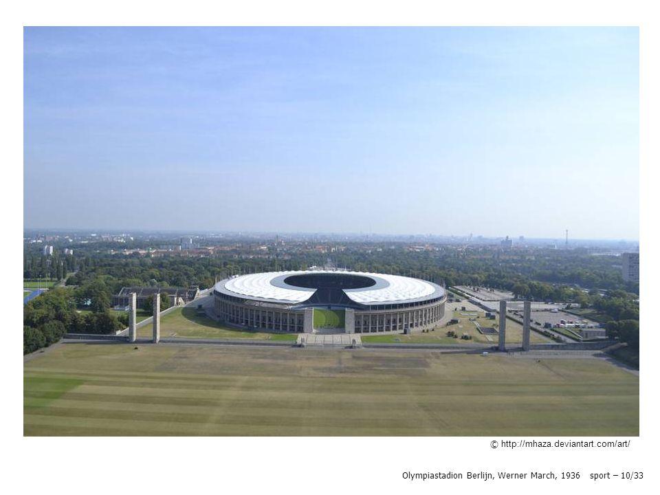 Olympiastadion Berlijn, Werner March, 1936 sport – 10/33 © Wikipedia © http://mhaza.deviantart.com/art/