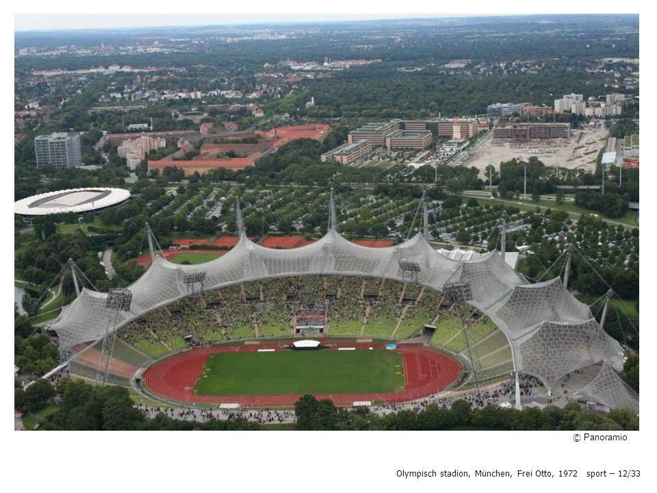 © Panoramio Olympisch stadion, München, Frei Otto, 1972 sport – 12/33