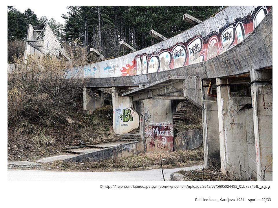 © http://i1.wp.com/futurecapetown.com/wp-content/uploads/2012/07/5605924493_05b72745fb_z.jpg Bobslee baan, Sarajevo 1984 sport – 20/33