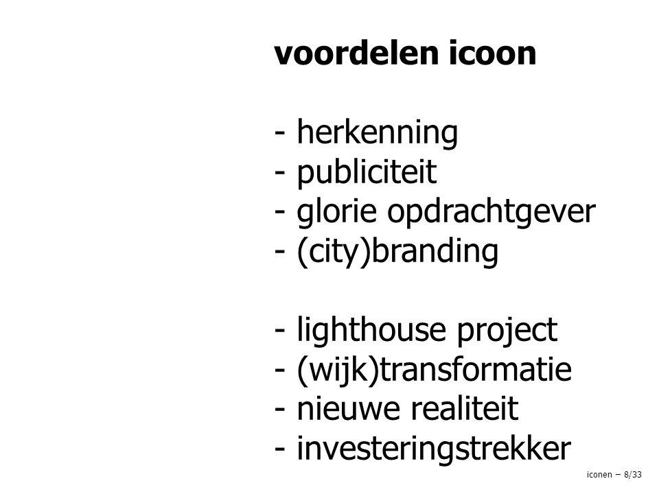 voordelen icoon - herkenning - publiciteit - glorie opdrachtgever - (city)branding - lighthouse project - (wijk)transformatie - nieuwe realiteit - investeringstrekker iconen – 8/33