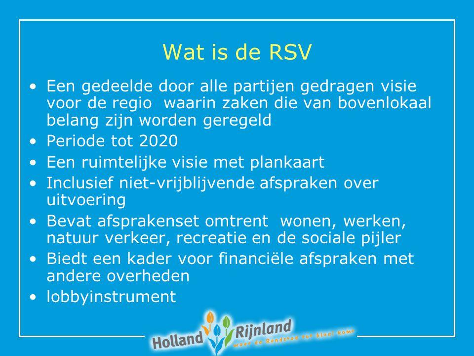 Waarom (nu) een RSV.