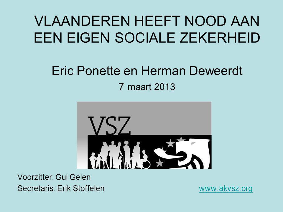 BIJKOMENDE ARGUMENTEN VOOR VLAAMSE SZ Beloften Vlaamse politici > Resolutie nr.