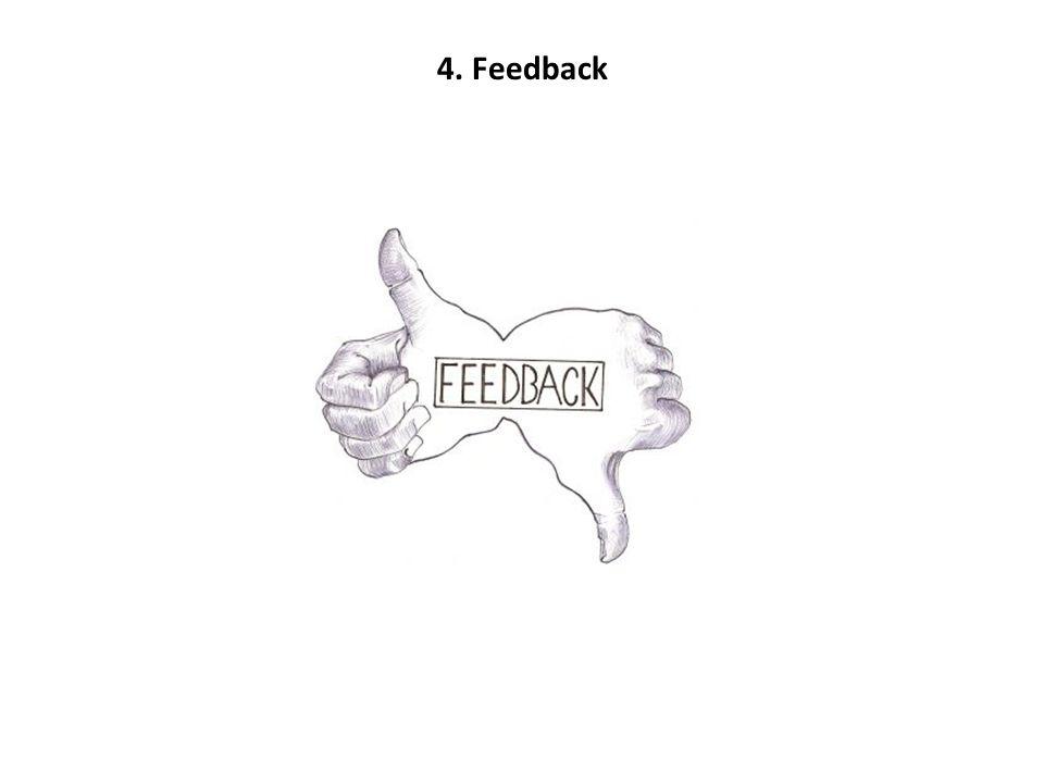 4. Feedback