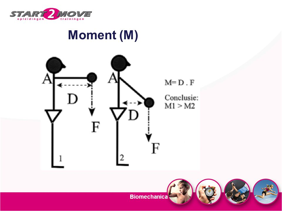 Biomechanica Moment (M)