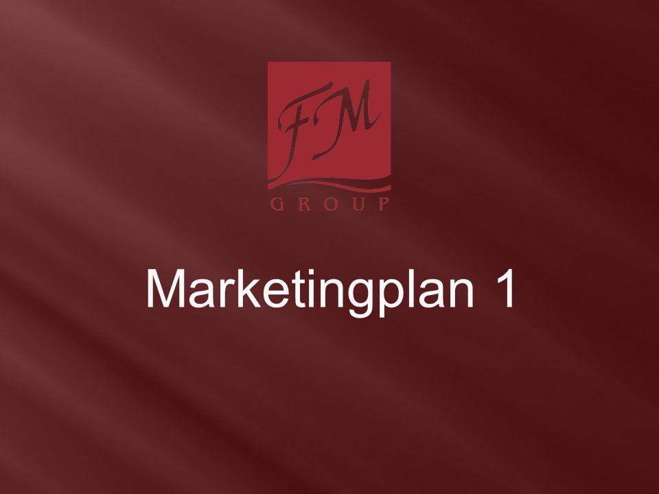 Marketingplan 1