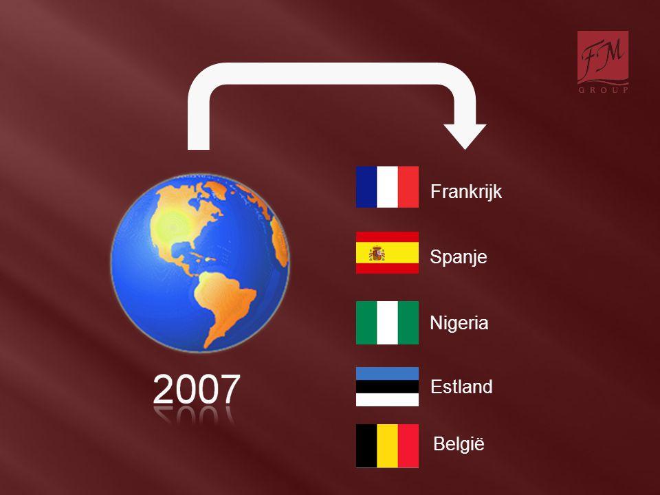Spanje Nigeria Frankrijk Estland België