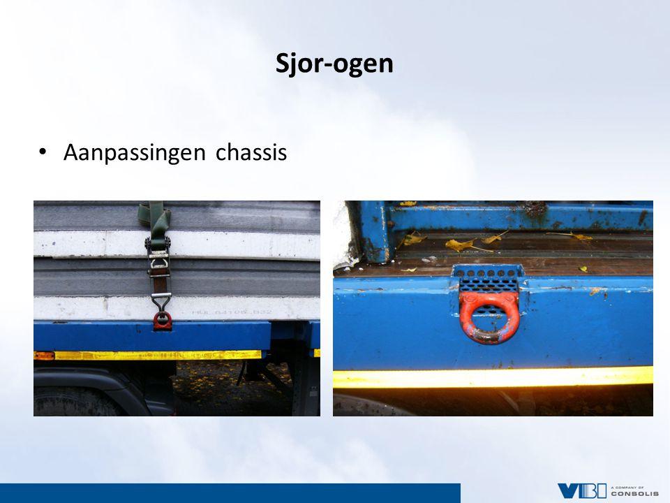 Sjor-ogen Aanpassingen chassis