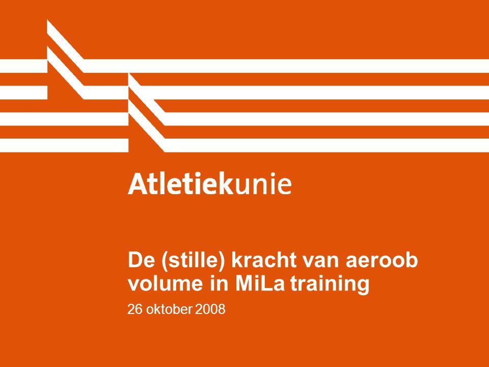Atletiekunie22 Wat is de stille kracht achter volume in training.