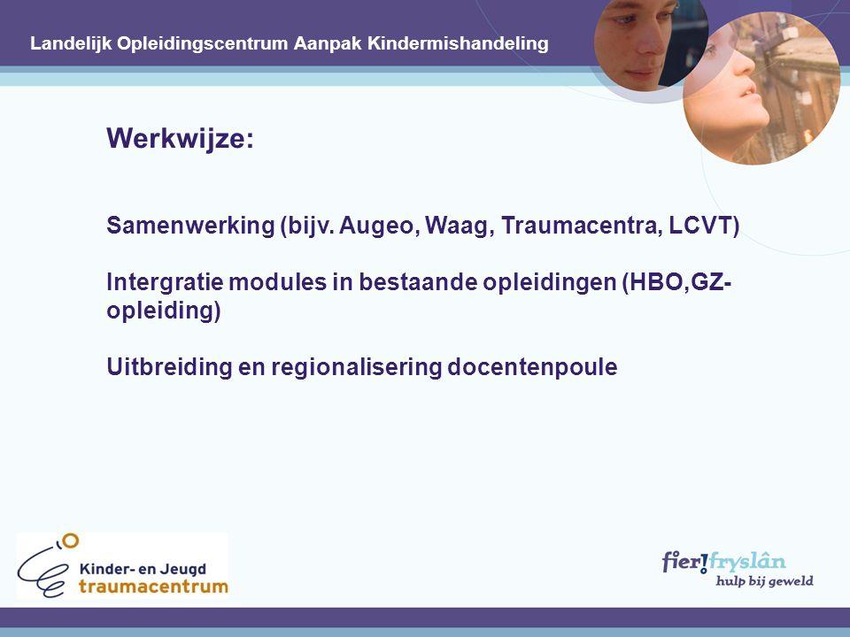 Werkwijze: Samenwerking (bijv.