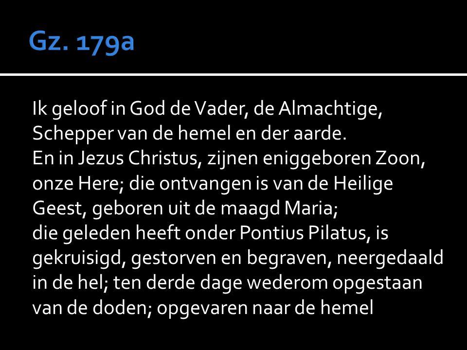  Ps.  Preek  Amenlied Ps. 86: 4,5  Geloofsbelijdenis Gz. 179a  Gebed  Collecte  Slotlied Ps. 103: 8,9  Zegen