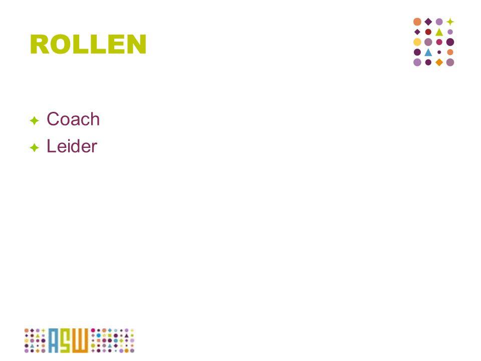 ROLLEN  Coach  Leider