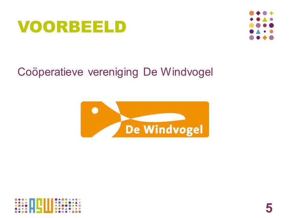 5 VOORBEELD Coöperatieve vereniging De Windvogel