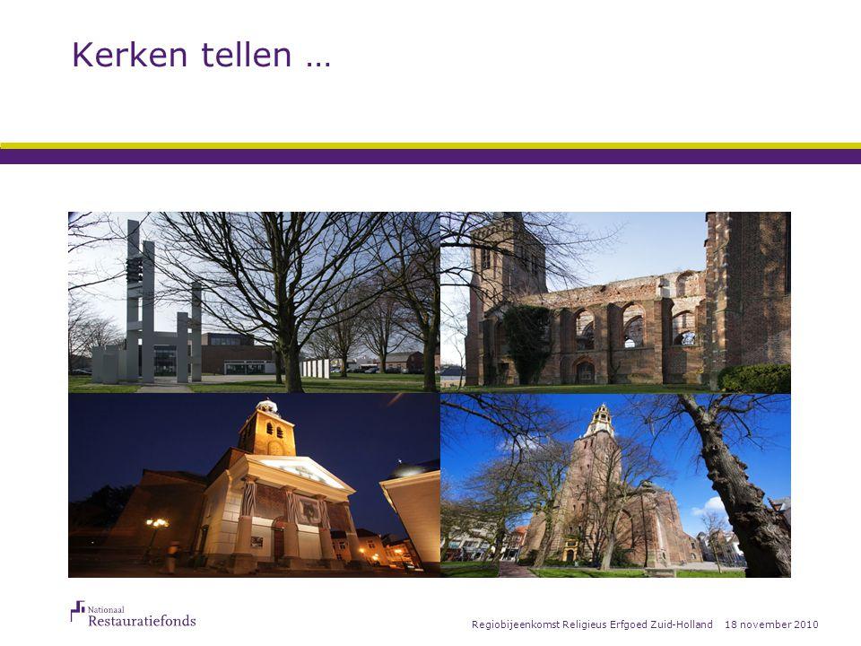 18 november 2010Regiobijeenkomst Religieus Erfgoed Zuid-Holland Actualiteiten Uniform Subsidiekader (USK) vereenvoudiging proces verlenen – vaststellen subsidieregeling o.a.