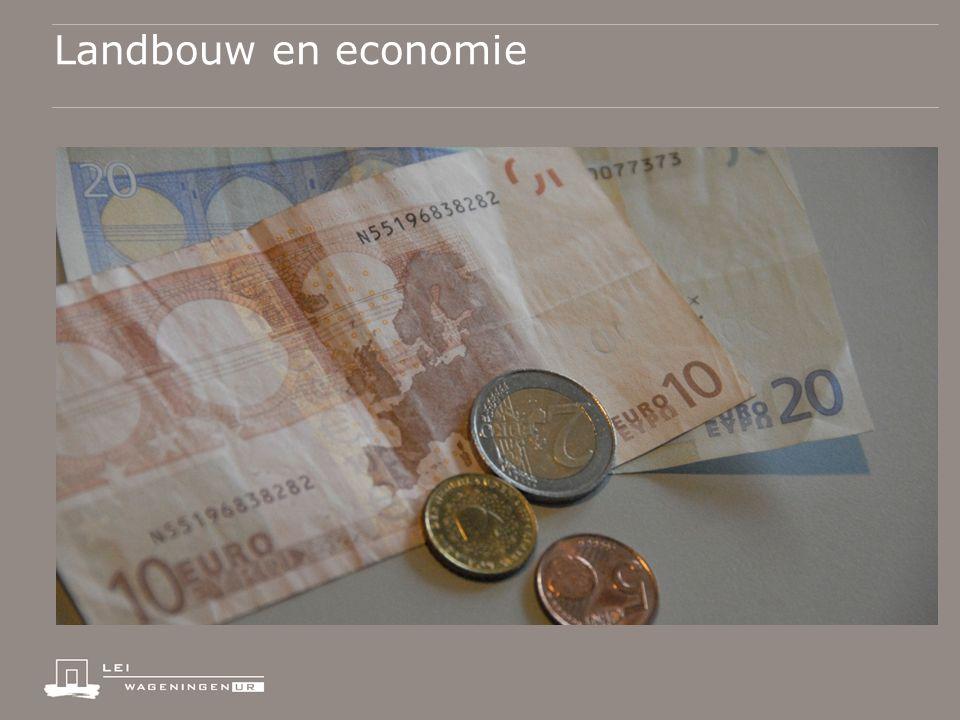 Landbouw en economie