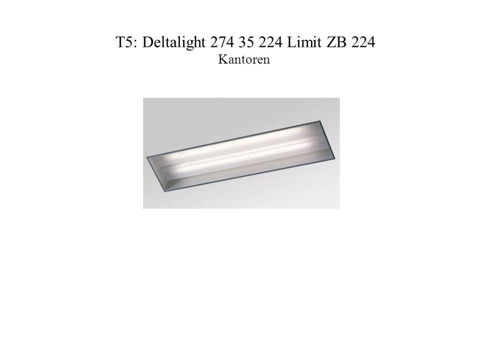 T5: Deltalight 274 35 224 Limit ZB 224 Kantoren