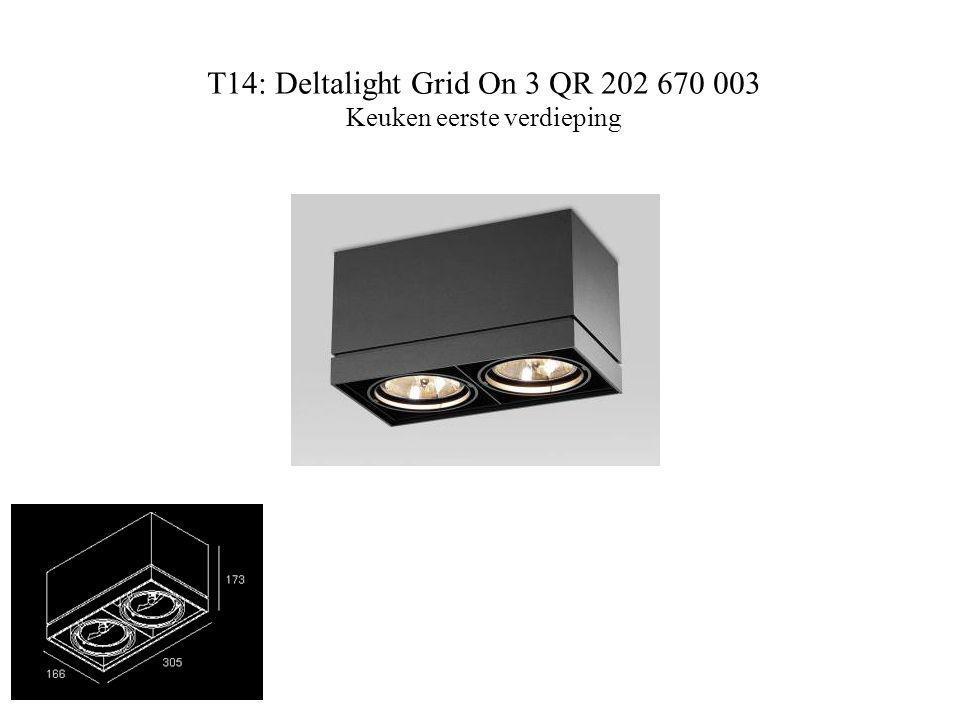 T14: Deltalight Grid On 3 QR 202 670 003 Keuken eerste verdieping