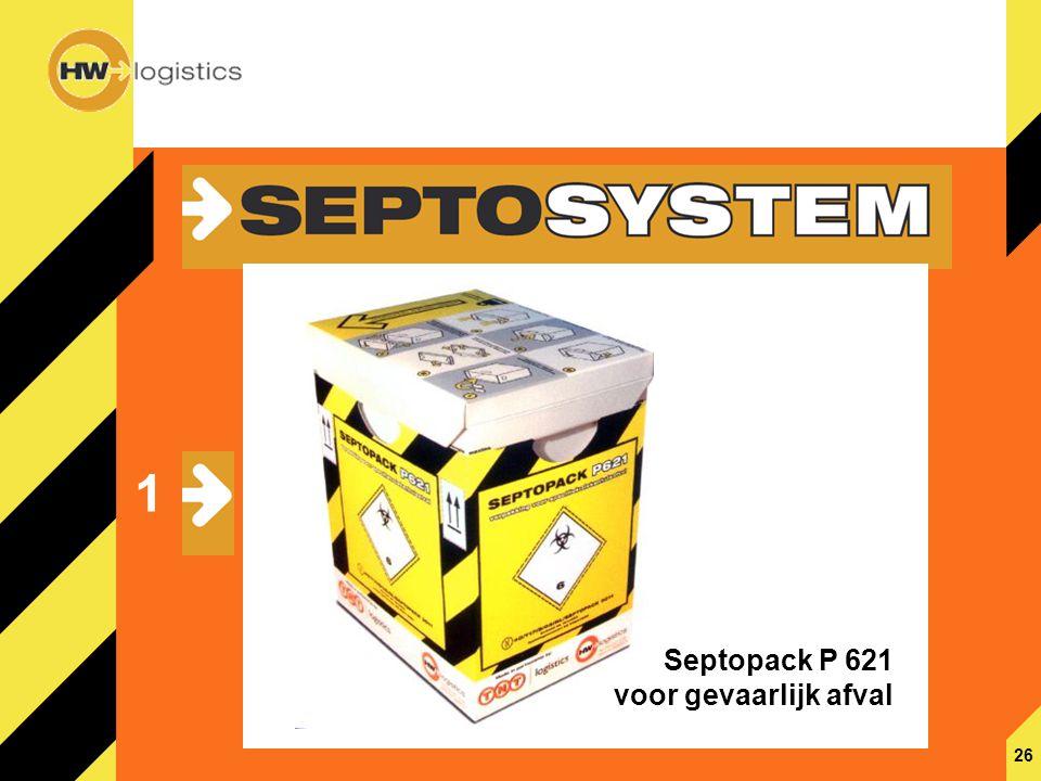 27 2 Septosafe P 620 voor besmettelijk afval