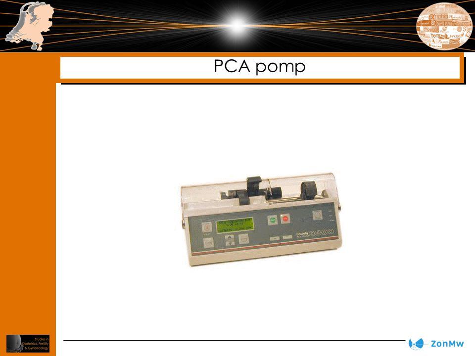 PCA pomp