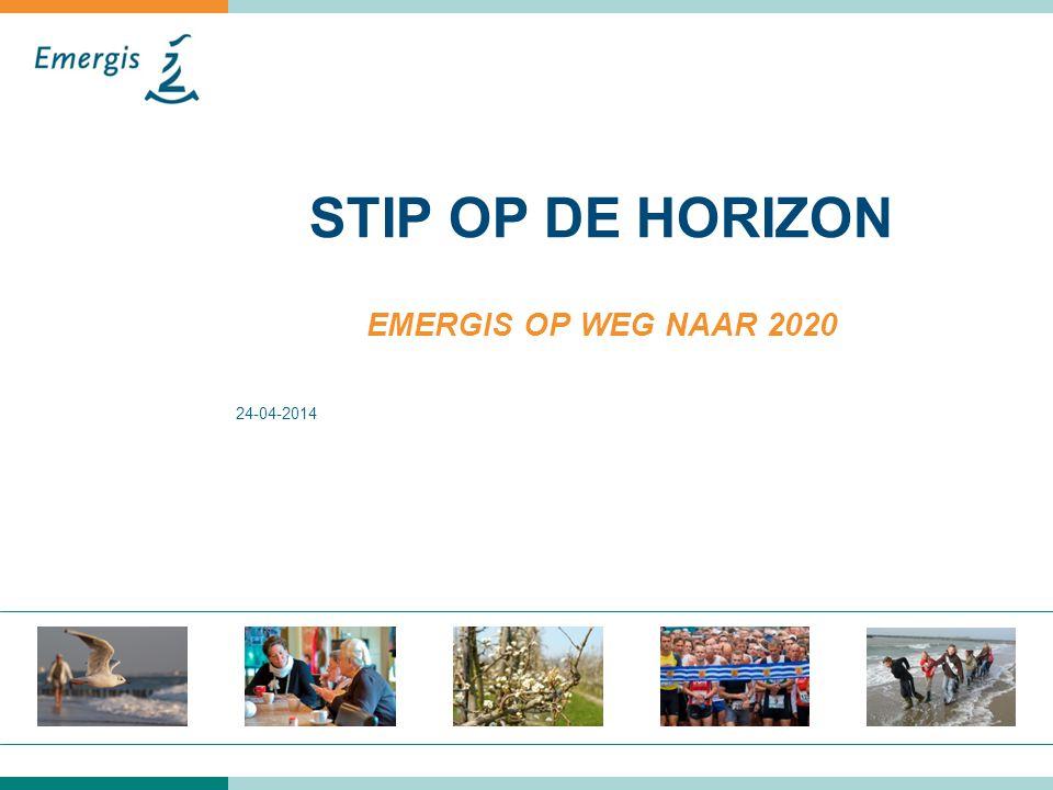 24-04-2014 STIP OP DE HORIZON EMERGIS OP WEG NAAR 2020