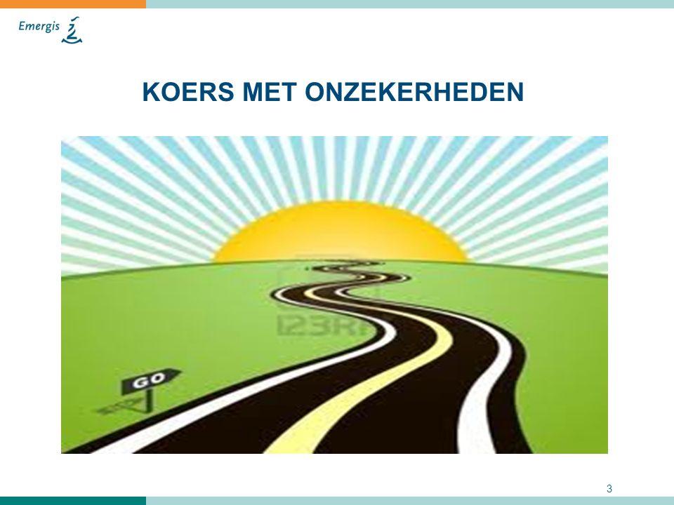 Drie opties 1.Huidige situatie voortzetten en samenwerkings- constructies maken voor die onderdelen waar dat nodig is.
