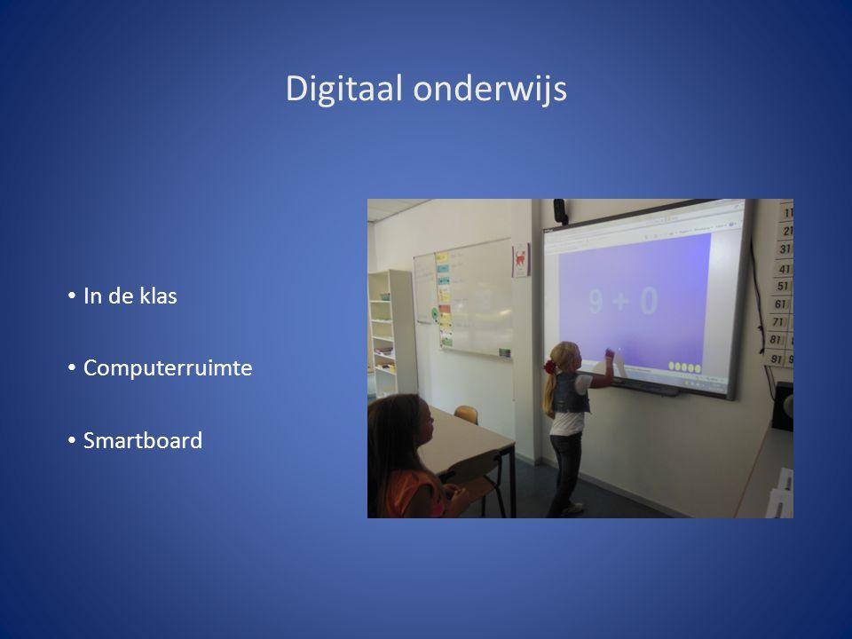 Digitaal onderwijs In de klas Computerruimte Smartboard