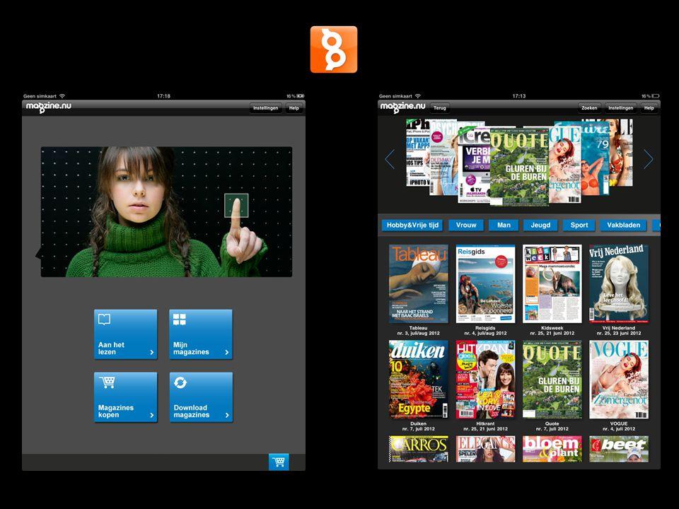 iPadcijfers tijdschriften op iPad toekomst…