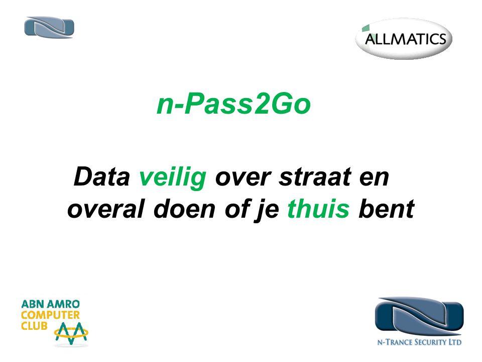 n-Pass2Go Data veilig over straat en overal doen of je thuis bent