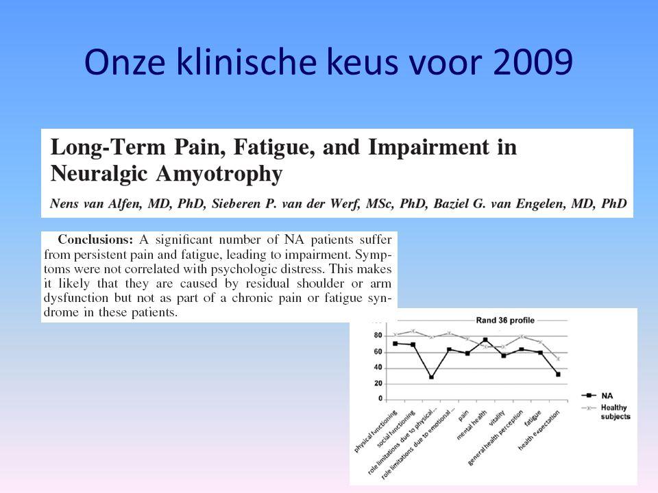 NM-Dashboard-2009 GenesDrugsTraining Care/manage- ment Plexus5678 6 6 Treatment for idiopathic and hereditary neuralgic amyotrophy (brachial neuritis).Treatment for idiopathic and hereditary neuralgic amyotrophy (brachial neuritis).