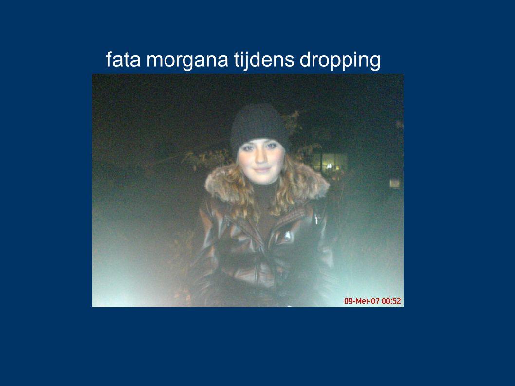 fata morgana tijdens dropping