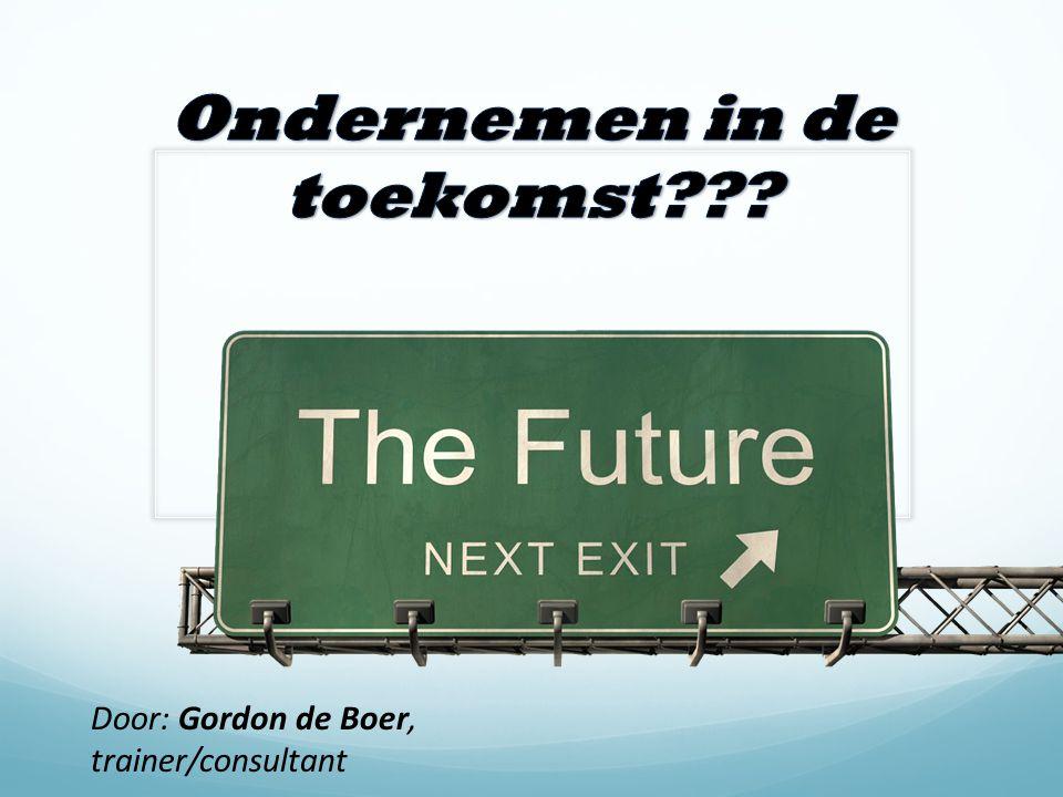 Door: Gordon de Boer, trainer/consultant