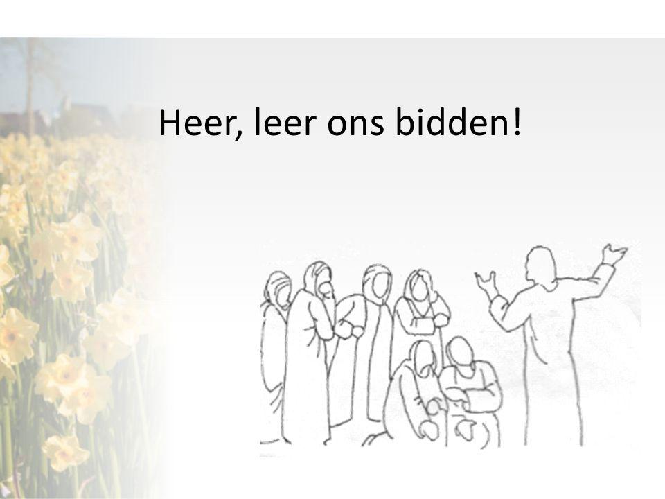 Opzet van de serie: Preek 1: Het 'Onze Vader' als gebedsmodel Preek 2: gebed en verhoring Preek 3: gebed en genezing Preek 4.