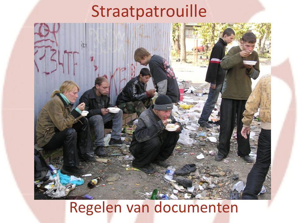 Straatpatrouille Regelen van documenten
