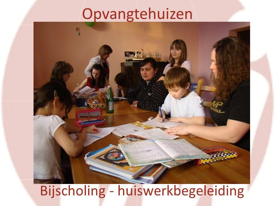 Bijscholing - huiswerkbegeleiding Opvangtehuizen