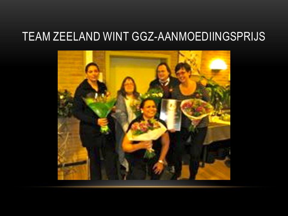 TEAM ZEELAND WINT GGZ-AANMOEDIINGSPRIJS