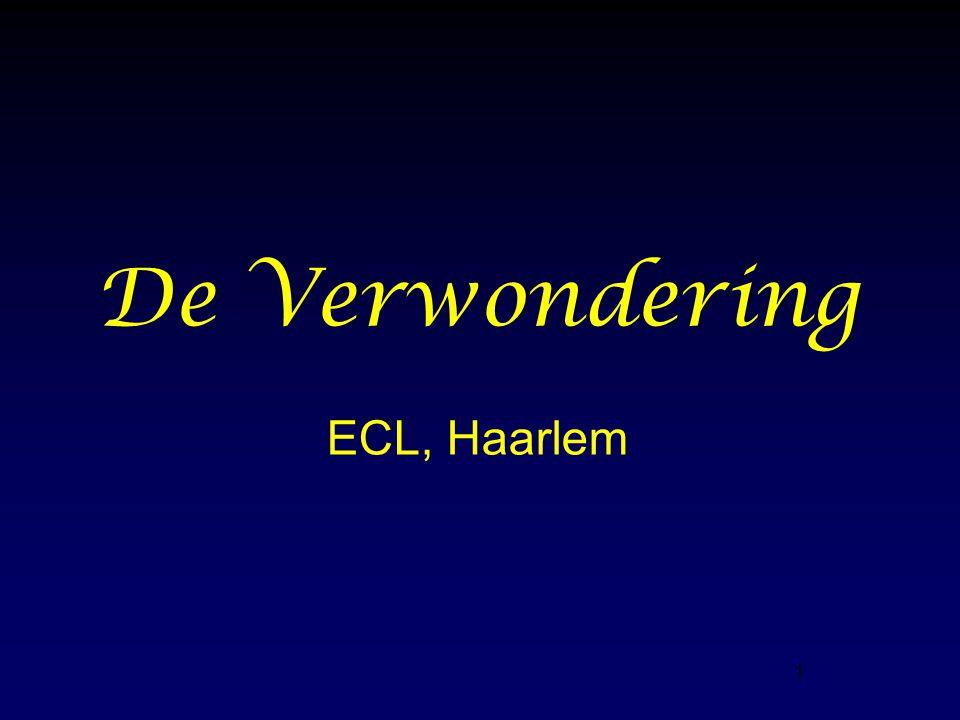 1 De Verwondering ECL, Haarlem