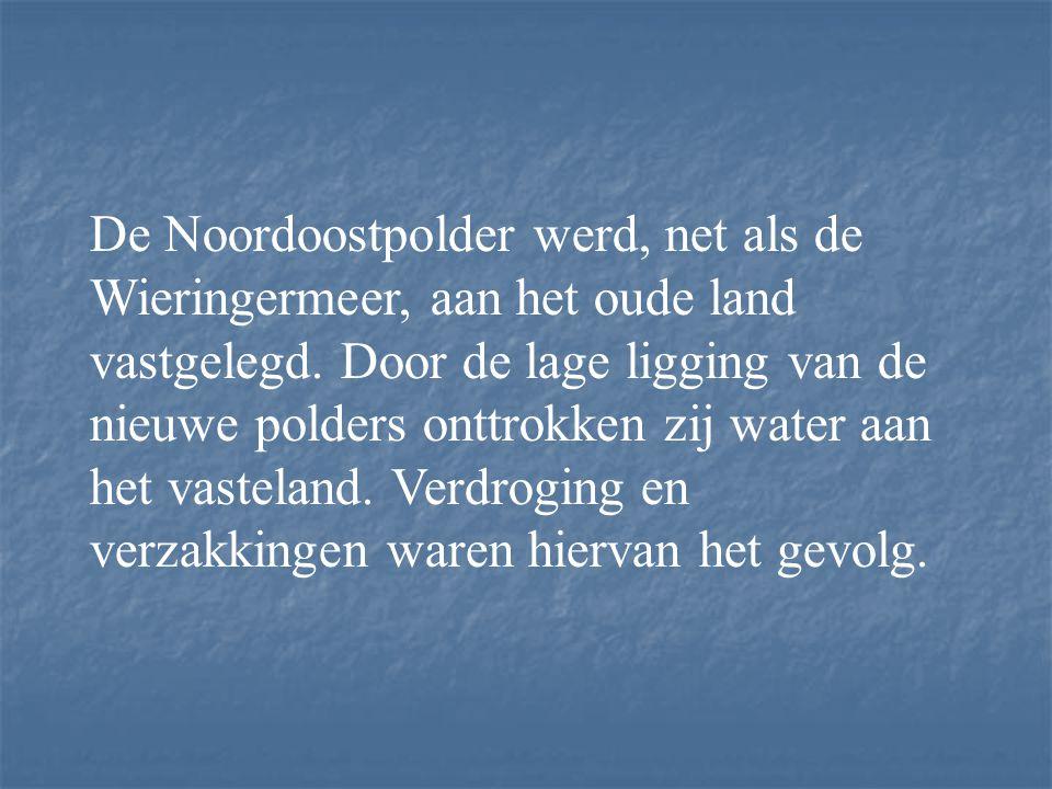 Zicht op de Noordoostpolder 1950 Noordoostpolder (1937-1942)
